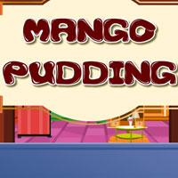 Пудинг с манго