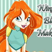 игра Винкс Блум макияж